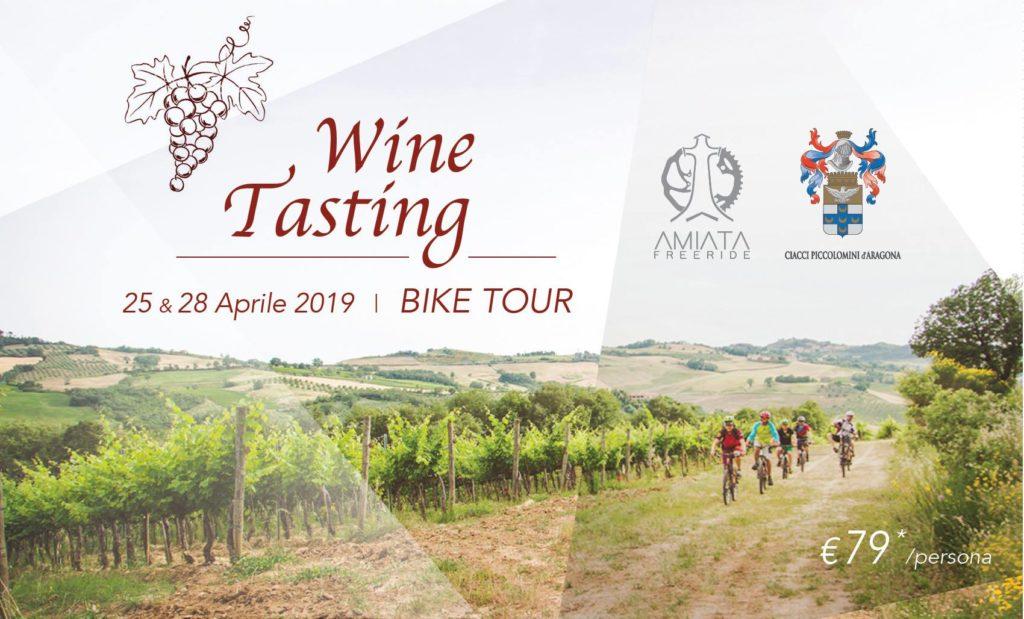 wine tasting bike tour