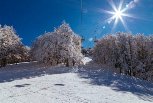 amiata neve sole